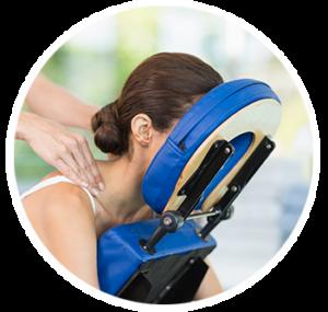 massage élongation dos